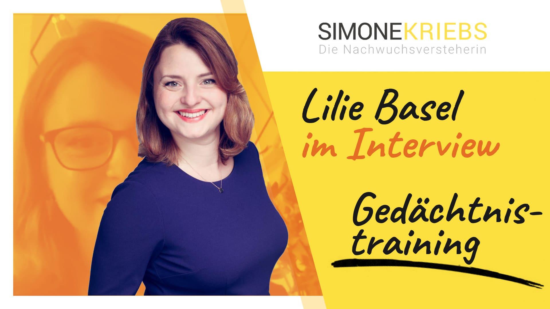 Lilie Basel im Bildungsspirit-Interview: Gedächtnistraining