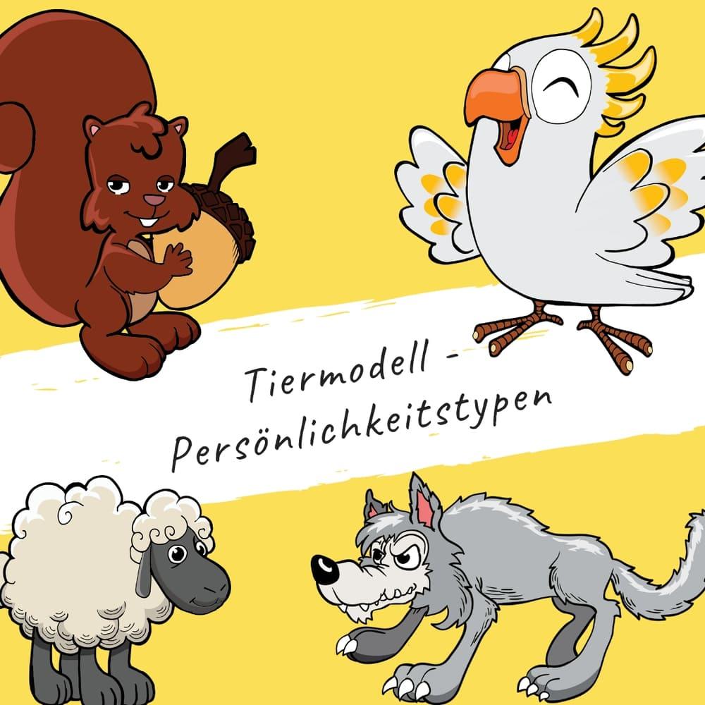 Bildungsspirit Kurzimpuls #002: Tiertypen-Modell: Persönlichkeitstypen