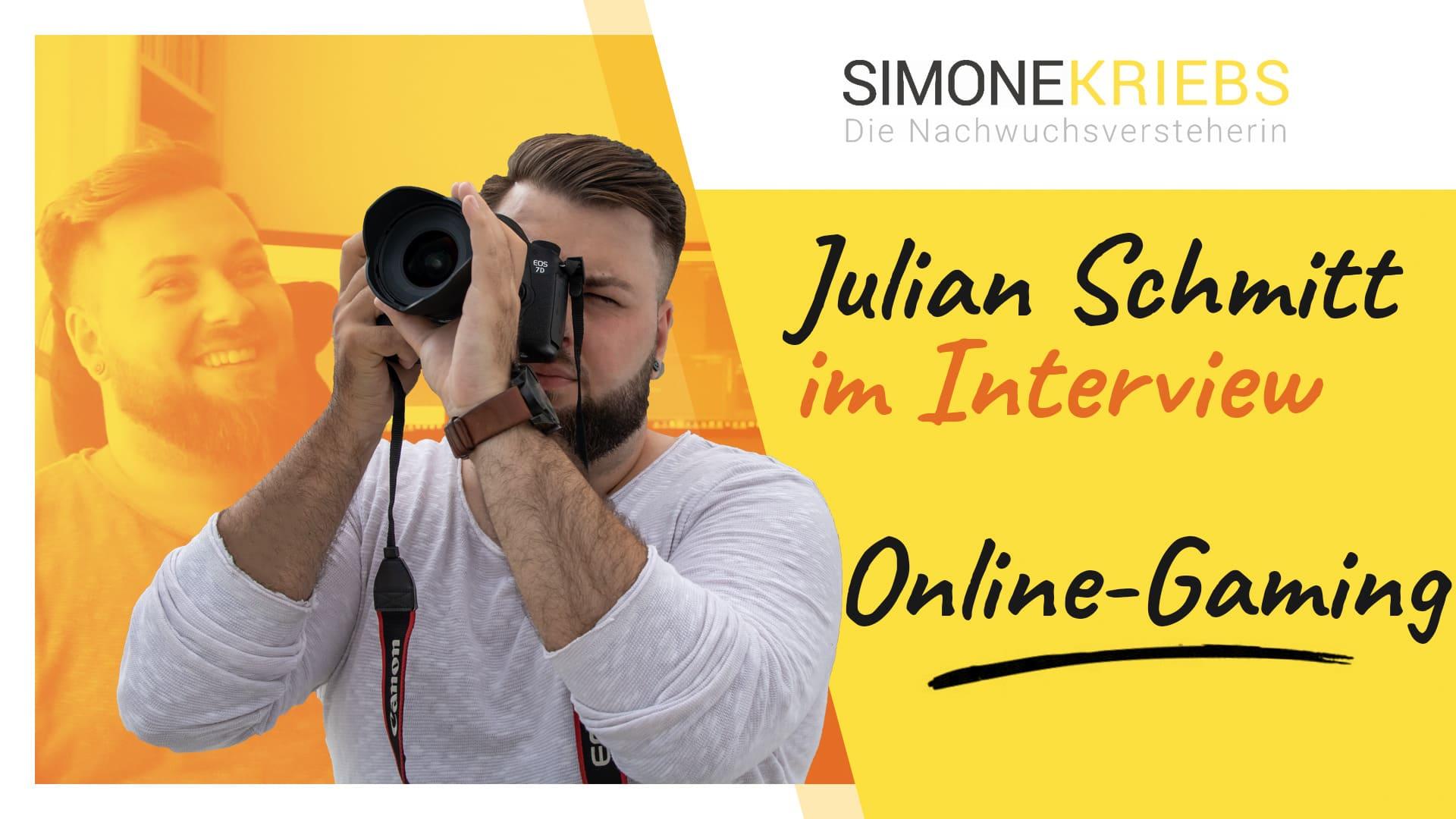 Julian Schmitt im Bildungsspirit-Interview: Online-Gaming als Vollzeitjob