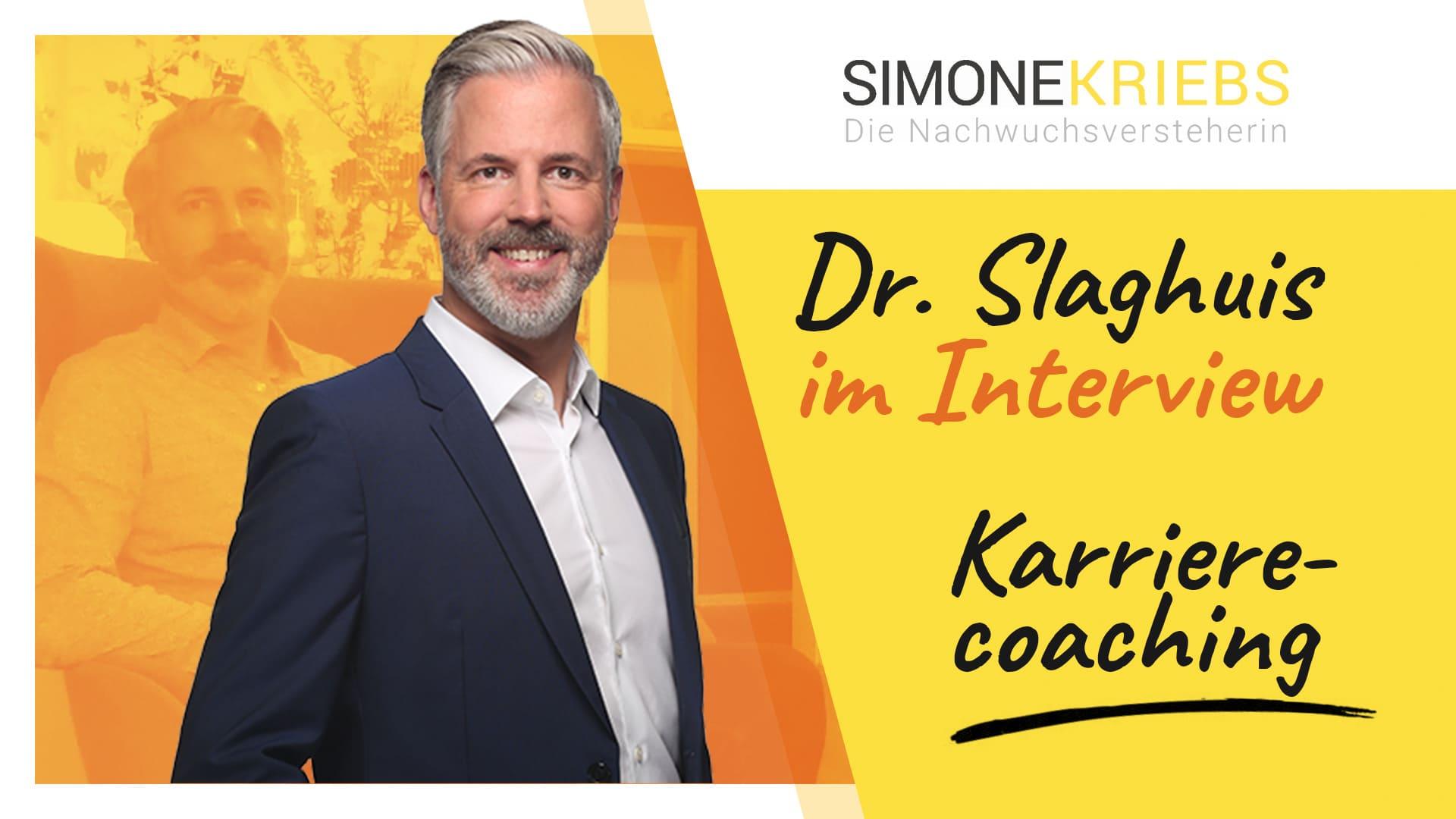 Dr. Bernd Slaghuis im Bildungsspirit-Interview: Karrierecoaching – Eigene Werte gehören in den Fokus