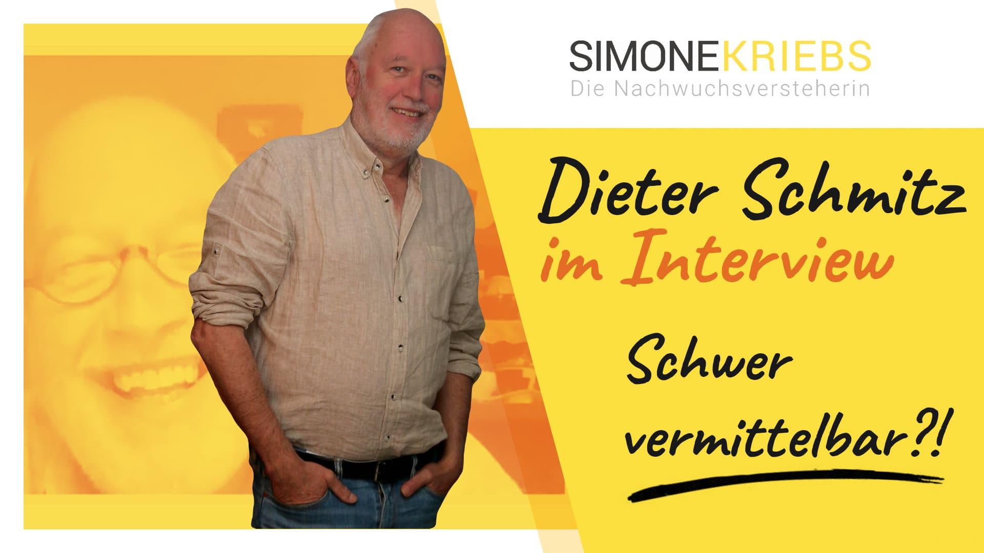 Dieter Schmitz im Bildungsspirit-Interview: Schwer vermittelbar?! – Marktferne Jugendliche