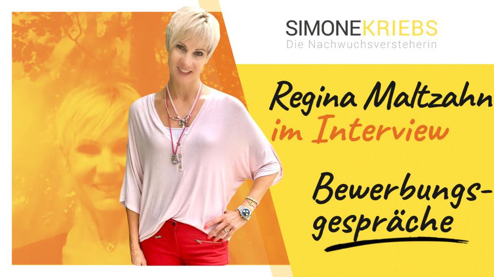 Regina Maltzahn im Bildungsspirit-Interview: Bewerbungsgespräche