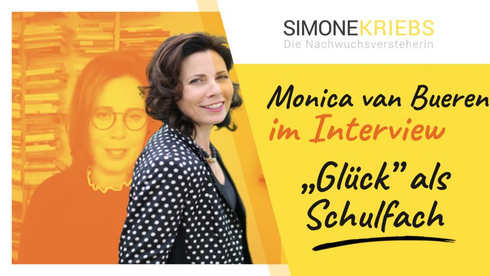 """Monica van Bueren im Bildungsspirit-Interview: """"Glück"""" als Schulfach"""