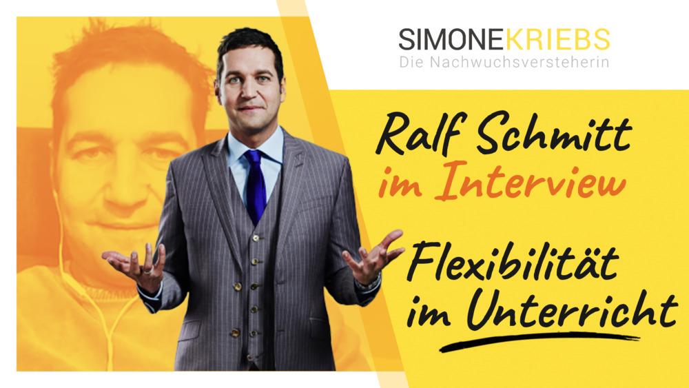 Ralf Schmitt im Bildungsspirit-Interview: Flexibilität im Unterricht