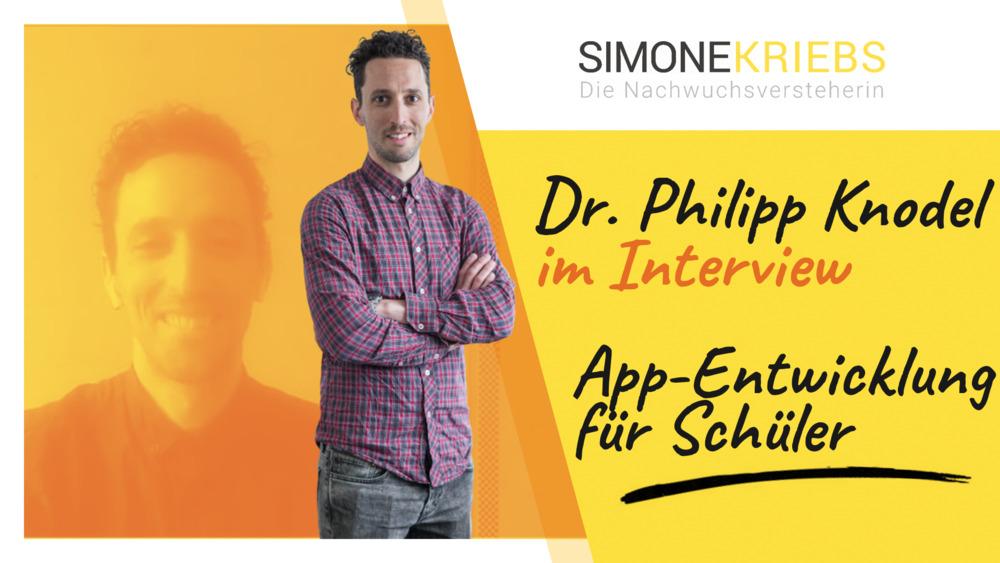 Dr. Philipp Knodel im Bildungsspirit-Interview zum Thema App-Entwicklung für Schüler und digitales Lernen