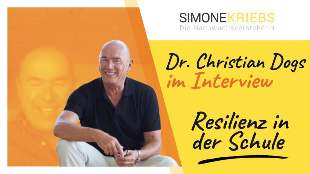 """Dr. Christian Dogs im Bildungsspirit-Interview zum Thema """"Emotionen und Resilienz in der Schule"""""""
