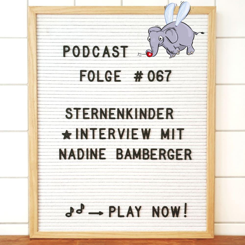 Mückenelefant-Podcast #067: Sternenkinder & Folgeschwangerschaften (Interview mit Nadine Bamberger von inbalance Mentaltraining)