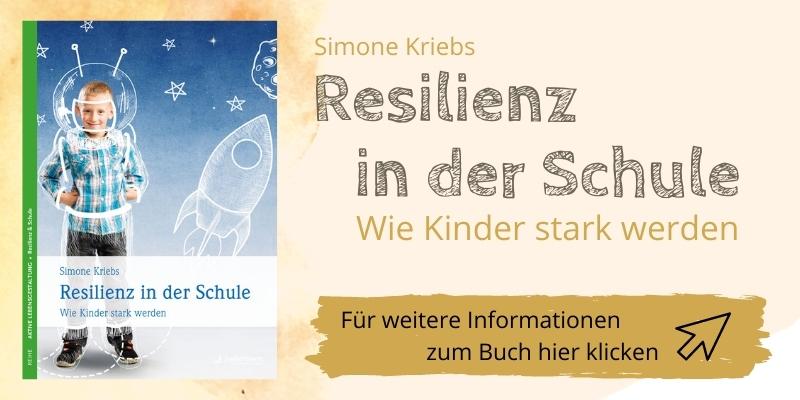 """Buch """"Resilienz in der Schule"""" von Simone Kriebs"""