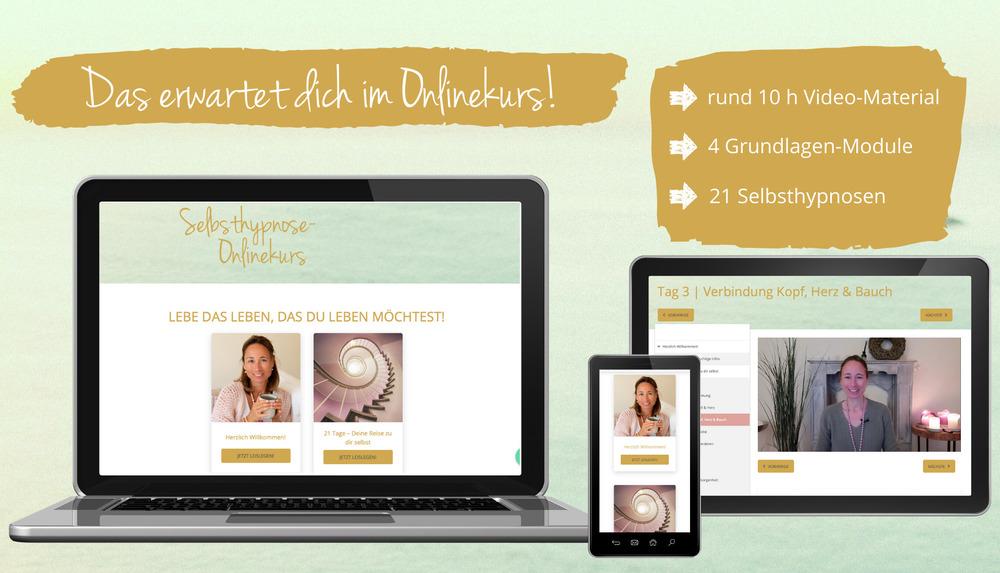 Selbsthypnose-Onlinekurs mit Simone Kriebs